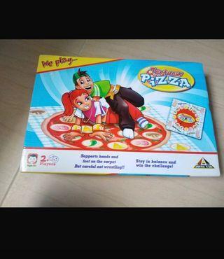 Juego Twister Pizza