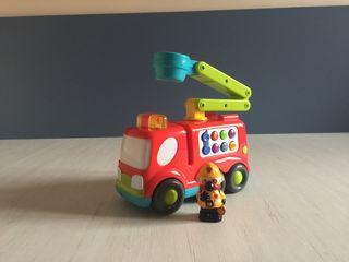 Camión de bomberos de bebe