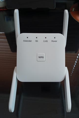 Repetidor wifi 5G, 2,4G 1200Mbps