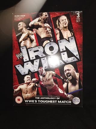 WWE Iron Will DVD
