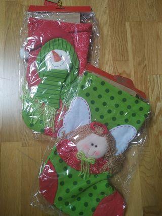 Calcetines decorativos de Navidad