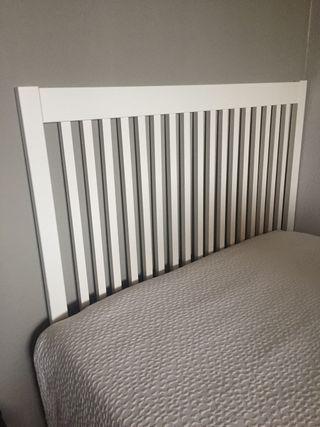 Cabecero cama 90