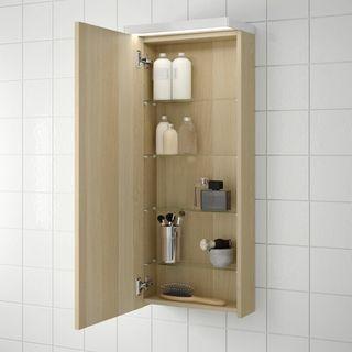Mueble de pared para baño