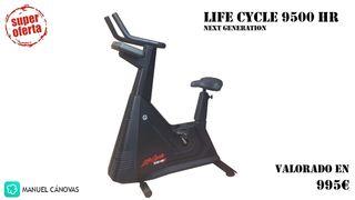 BICICLETA ESTÁTICA - LIFE CYCLE 9500HR Next Gen