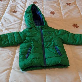 abrigo benetton verde
