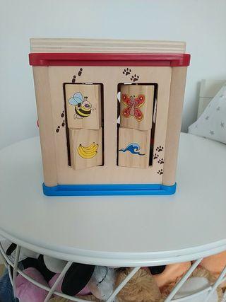 juguete madera Montessori nuevo