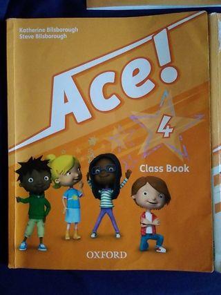 Ace. editorial Oxford. libro de inglés 4