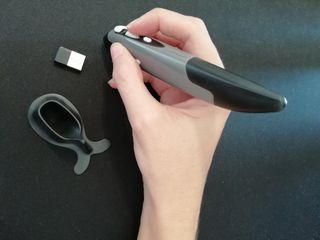 Ratón óptico inalámbrico en forma de lápiz
