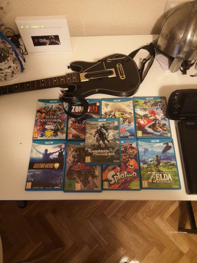WiiU + juegos