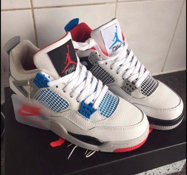 Retro Jordan 4's