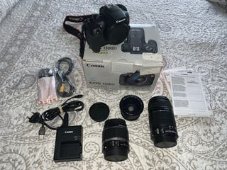 Cámara Reflex Canon Eos 1300D wifi