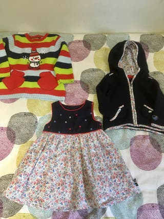 Lote vestidos 12 meses