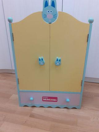 armario muñecas mimittos