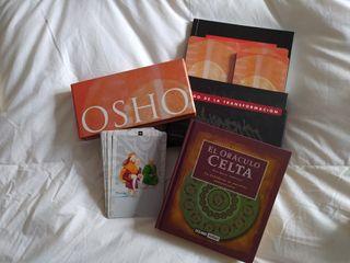 Lote Cartas Osho y Oráculo Celta