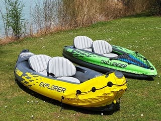 Kayak explorer K2 para dos personas.