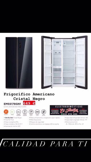 Frigorífico Americano Serie Cristal