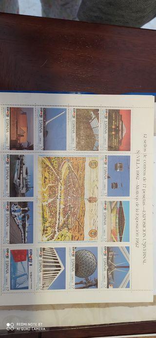 sellos Expo 92