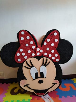 Piñata de la Minnie Mouse