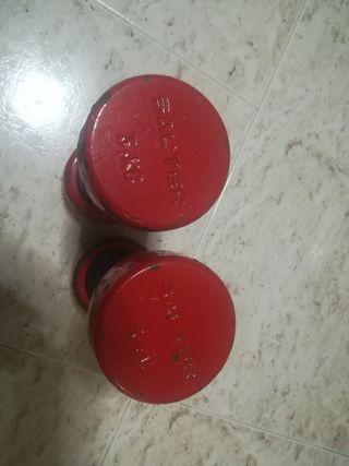 mancuernas 3 kg salter