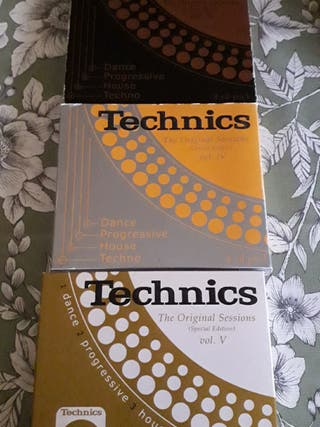 Lote Cd,s Musica Electronica Technics