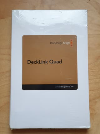 Blackmagic Design Decklink Quad Capture Card