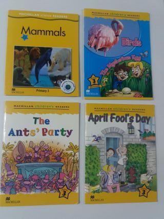 Macmillan Libros lectura en inglés Nivel 3