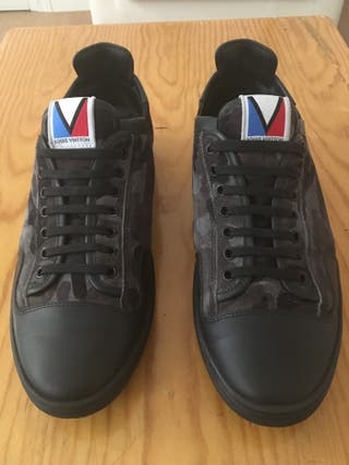Louis Vuitton slalom sneakers camouflage