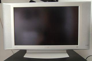 "televisor plano LCD Philips 23"""