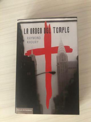 """Libro """"La orden del temple"""""""