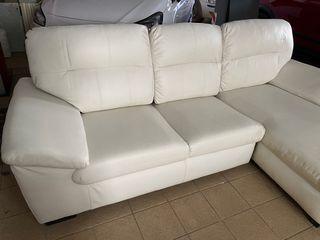 Sofá Ikea piel 3 plazas
