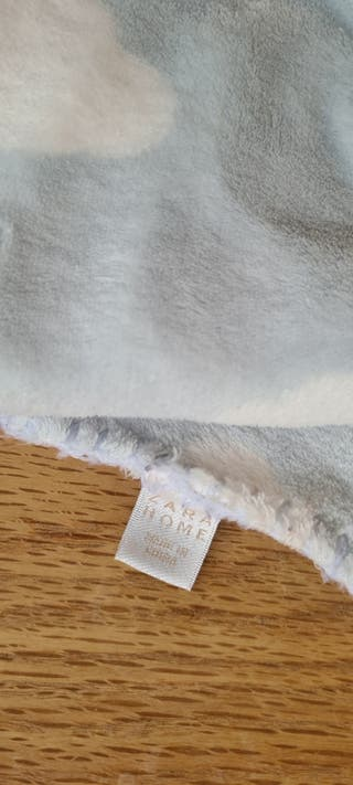 dos mantas bebé polar ZARA HOME muy poco uso