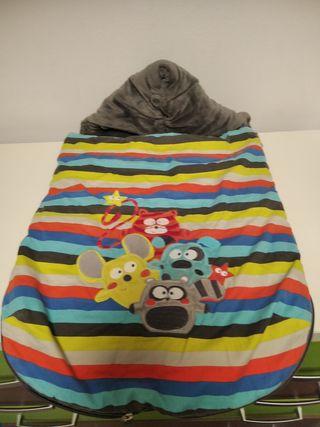 Saco bebé invierno muy suave, marca Tuc Tuc