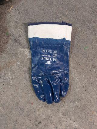 guantes de trabajo.