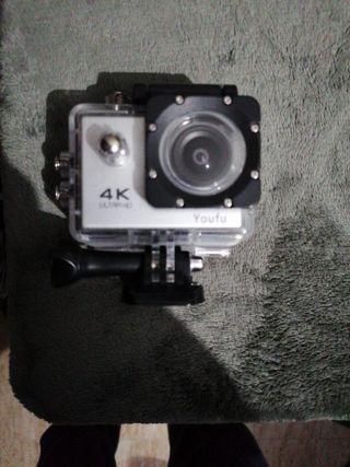 cámara 4k wifi deportiva go-pro