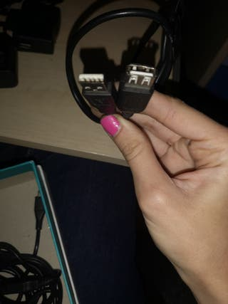 Cable USB. Macho hembra