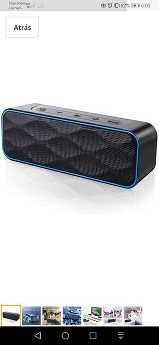 Altavoz Bluetooth 20W, MIROCOO S1Pro Altavoz Portá