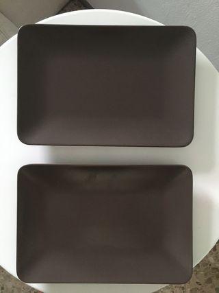 Platos rectangulares