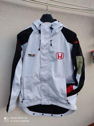 chaqueta impermeable marca Honda talla L