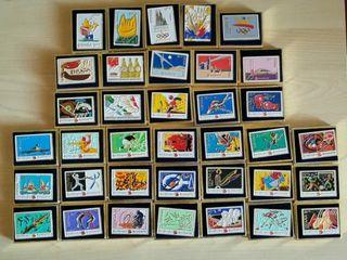 PINS de correos OLIMPIADAS 92