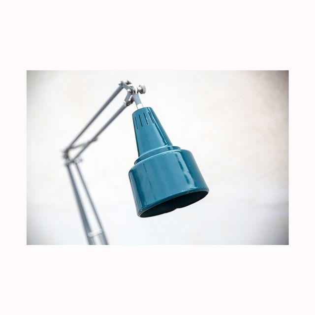 Lámpara vintage Industrial.