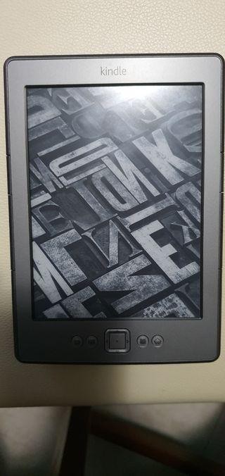 Libro electronico Kindle.
