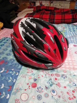 Casco de Bicicleta rojo