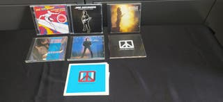 Joe satriani lote CDs hard rock