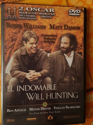 Peliculas dvd el indomable will hunting nuevo
