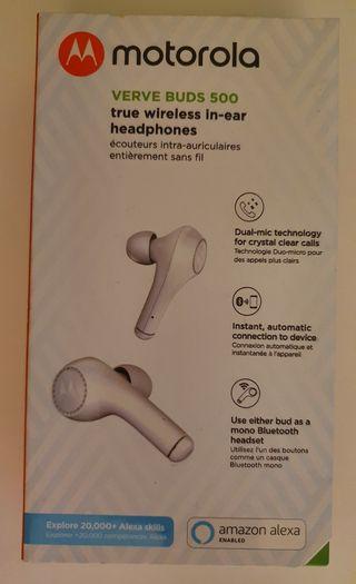 Motorola VerveBuds - Auriculares Bluetooth