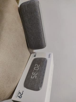 HAVIT Reloj Despertador Digital Altavoz Bluetooth
