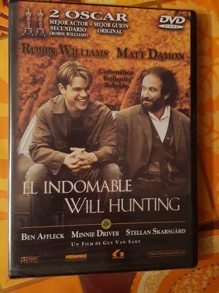 Peliculas dvd el indomable will hunting nueva