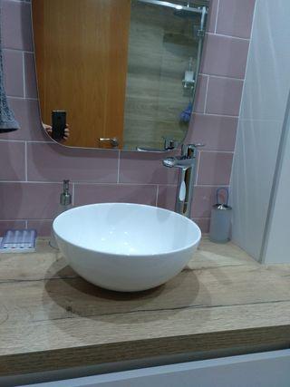 lavabo de bol cerámico