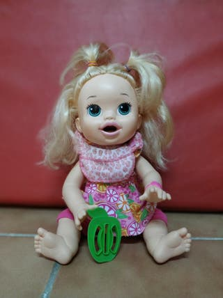Muñeca Baby Alive Sara comiditas