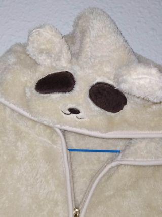 chaleco de peluche muy calentito